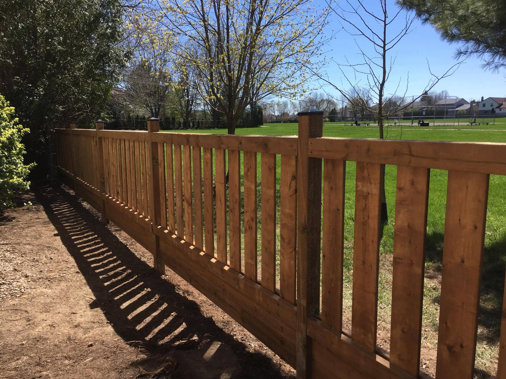 Custom fence construction