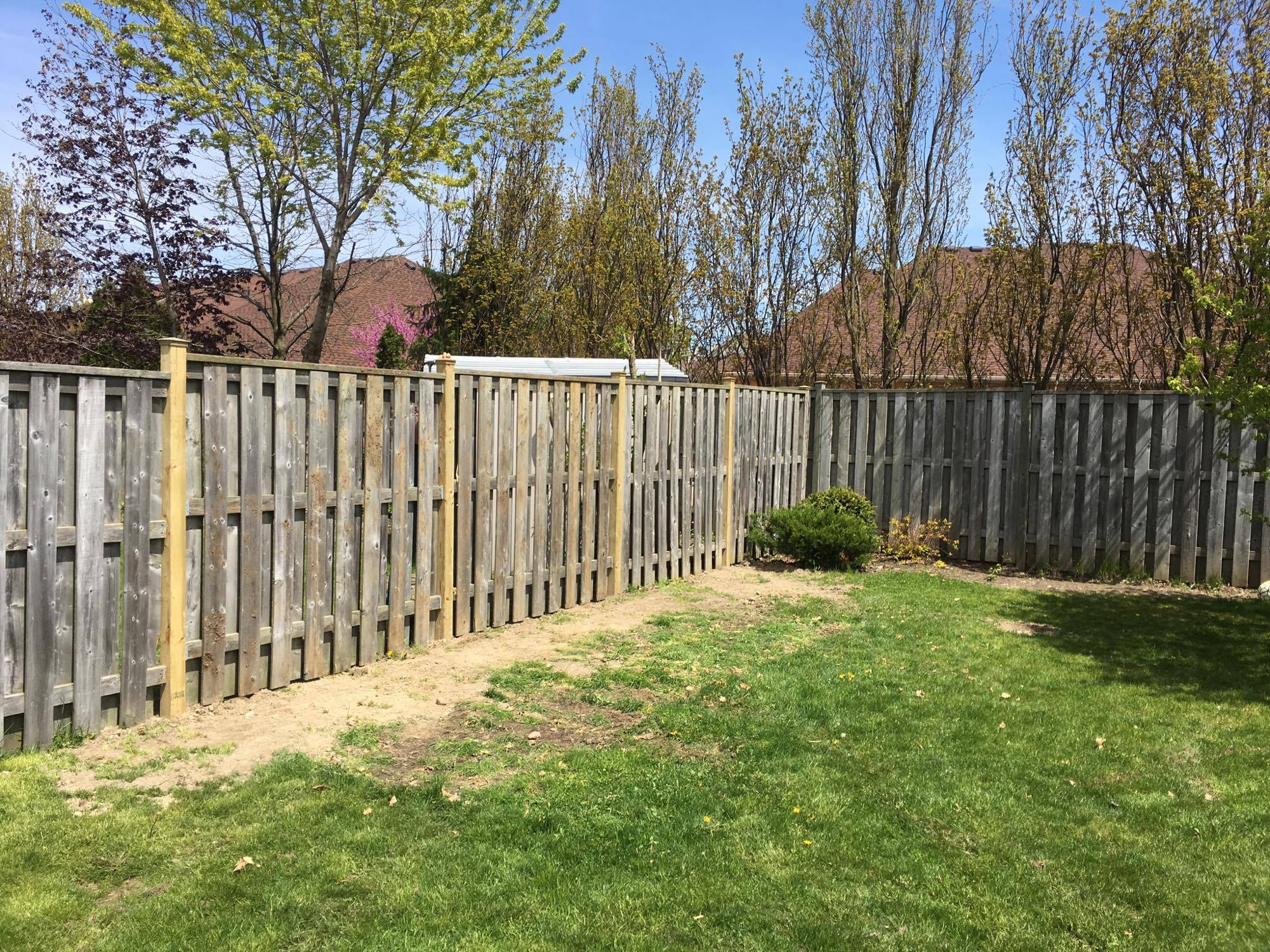 Replacement fence posts
