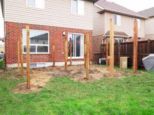 4x4, 6x6 Wood Deck Posts